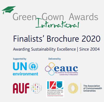 Green gown awards international finalists