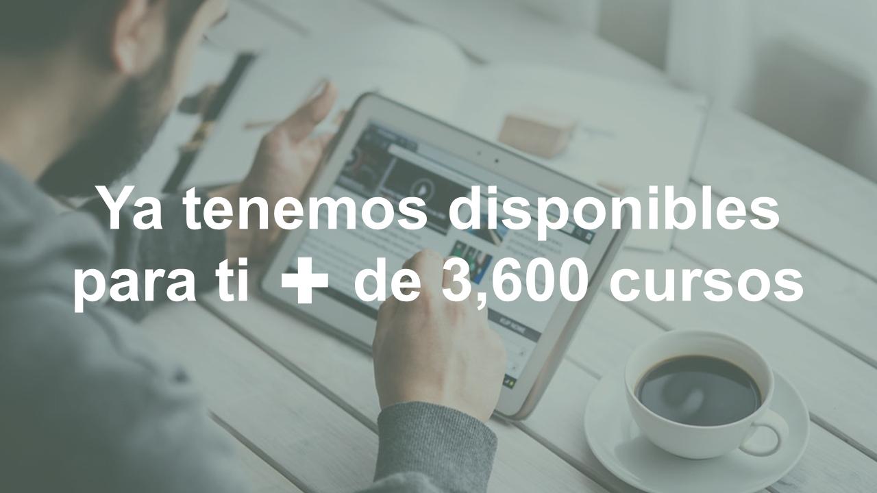 Tecmilenio con Coursera te dan acceso a más de 3,600 cursos